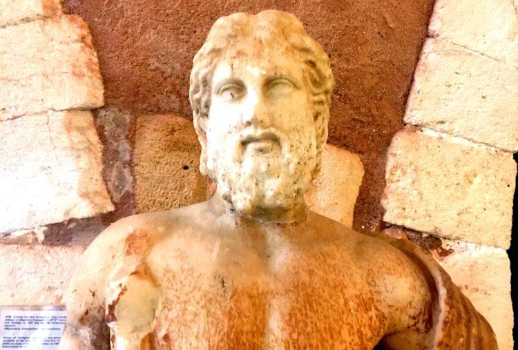 antike Figur museum
