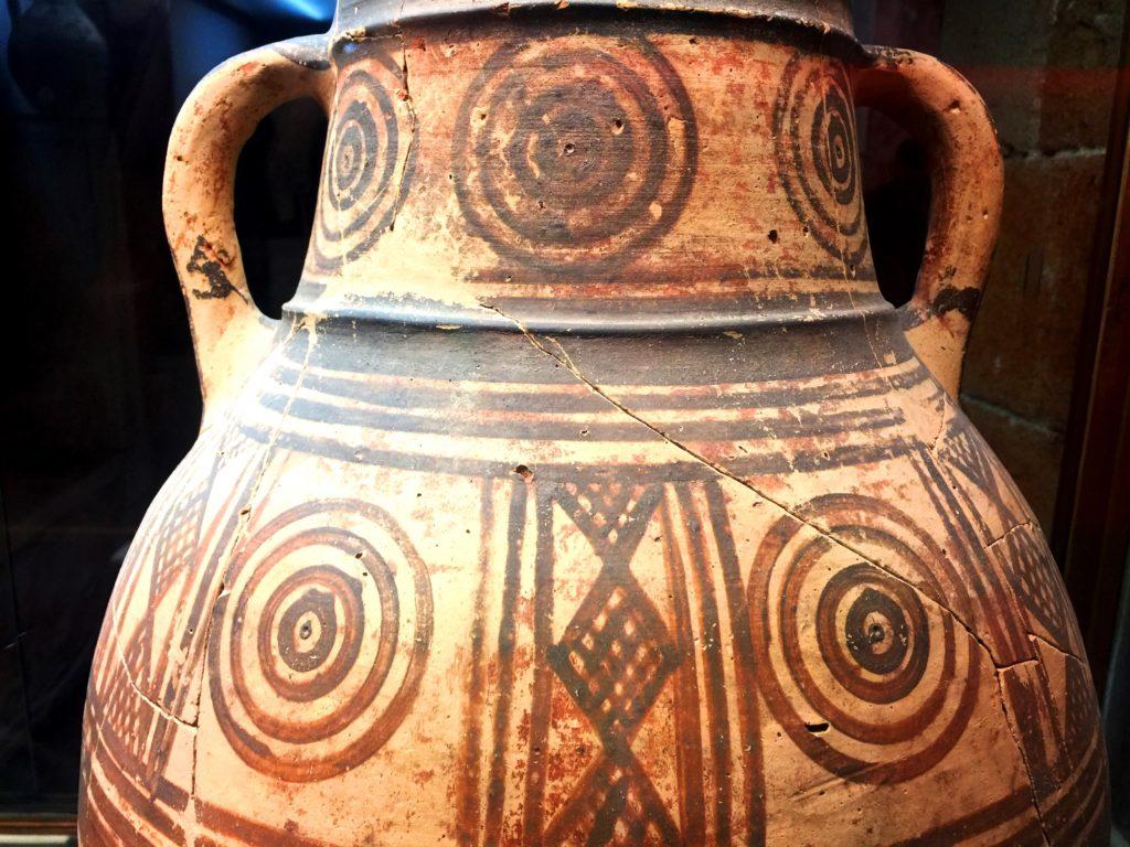 archäologische vase