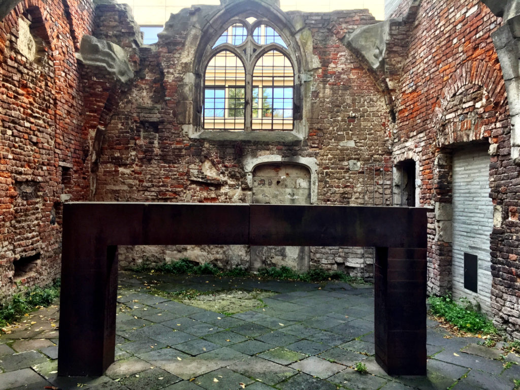 Richard Serra, Plastik, Kolumba, Köln