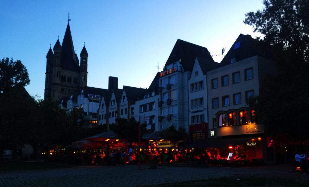 Köln, Silhouette,
