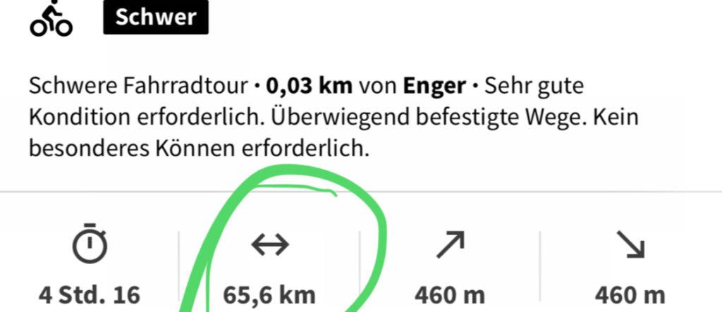 Dokumentation, Fahrradtour