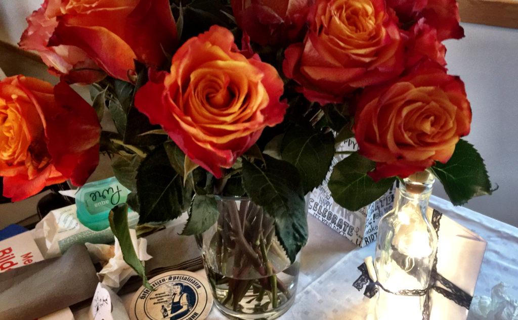 Rosen zum Geburtstag, Jubiläum