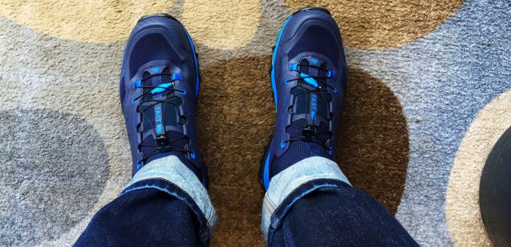 Speedhiking Schuhe, neue Walking Schuhe, Decathlon,