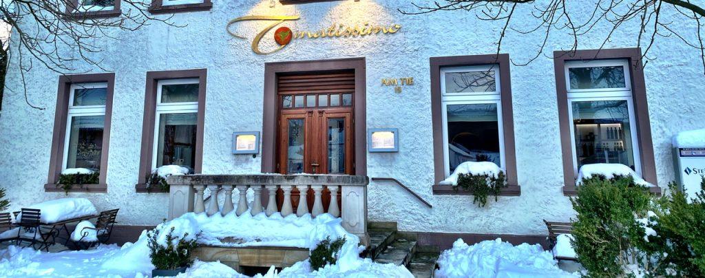 Eingangsbereich Restaurant Tomatissimo