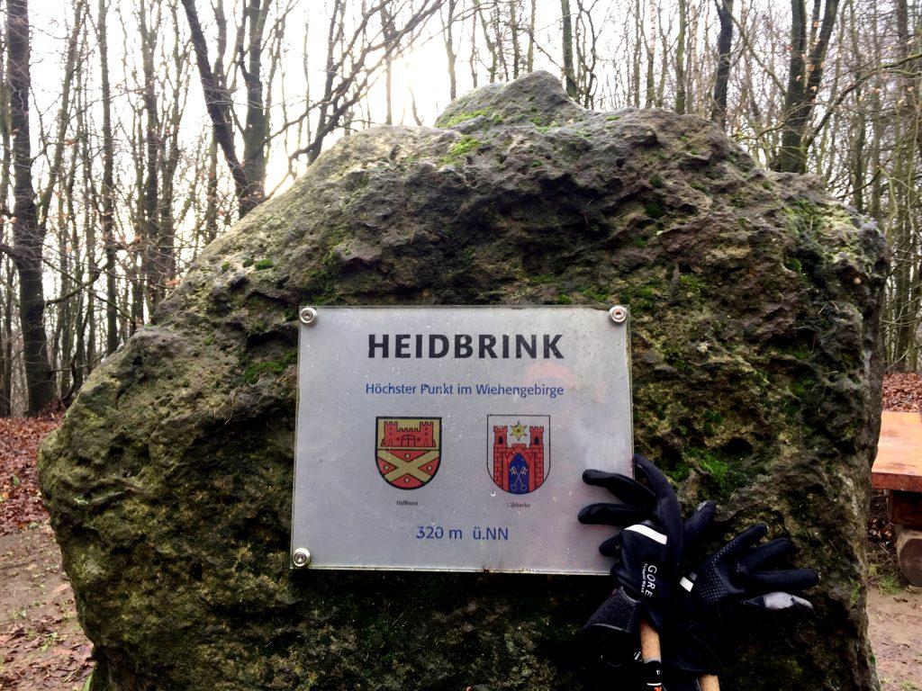 Heidbrink, Felsen, höchster Punkt,